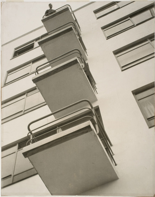 László Moholy-Nagy, 1926, Bauhaus Balconies